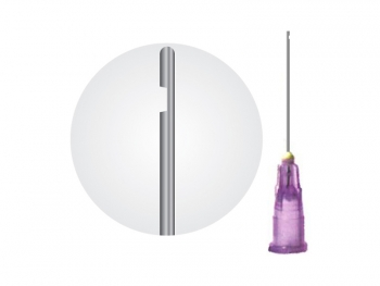 Endo Needle Closed End Side Vent 23G
