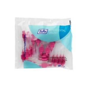 TePe Interdental Brush, 0.4mm Pink / 25 pk