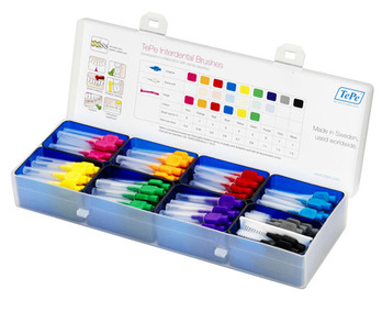 TePe Practice Box - Interdental Brushes Starter Kit (box+40 idbs)