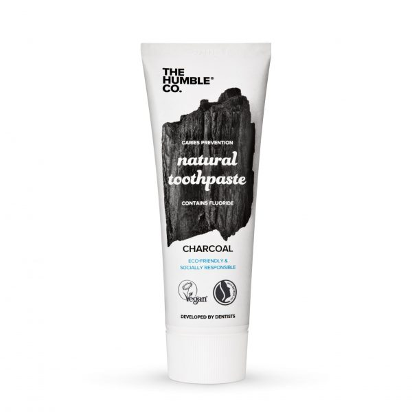 The Humble Co. Natural Charcoal Toothpaste 75ml - 14 tubes