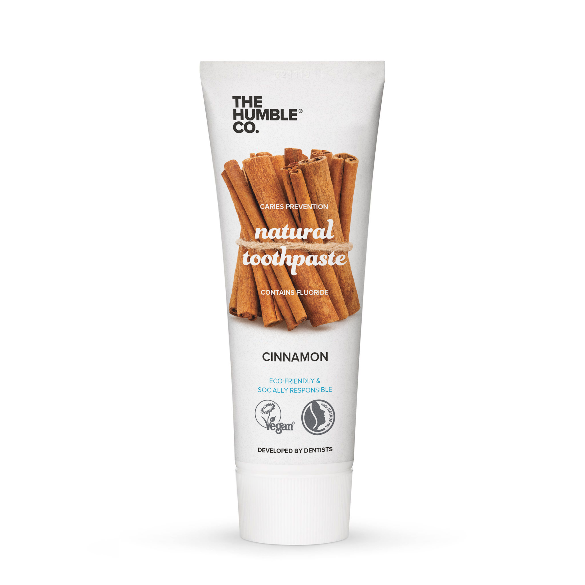 The Humble Co. Natural Toothpaste – Cinnamon 75ml - 14 tubes