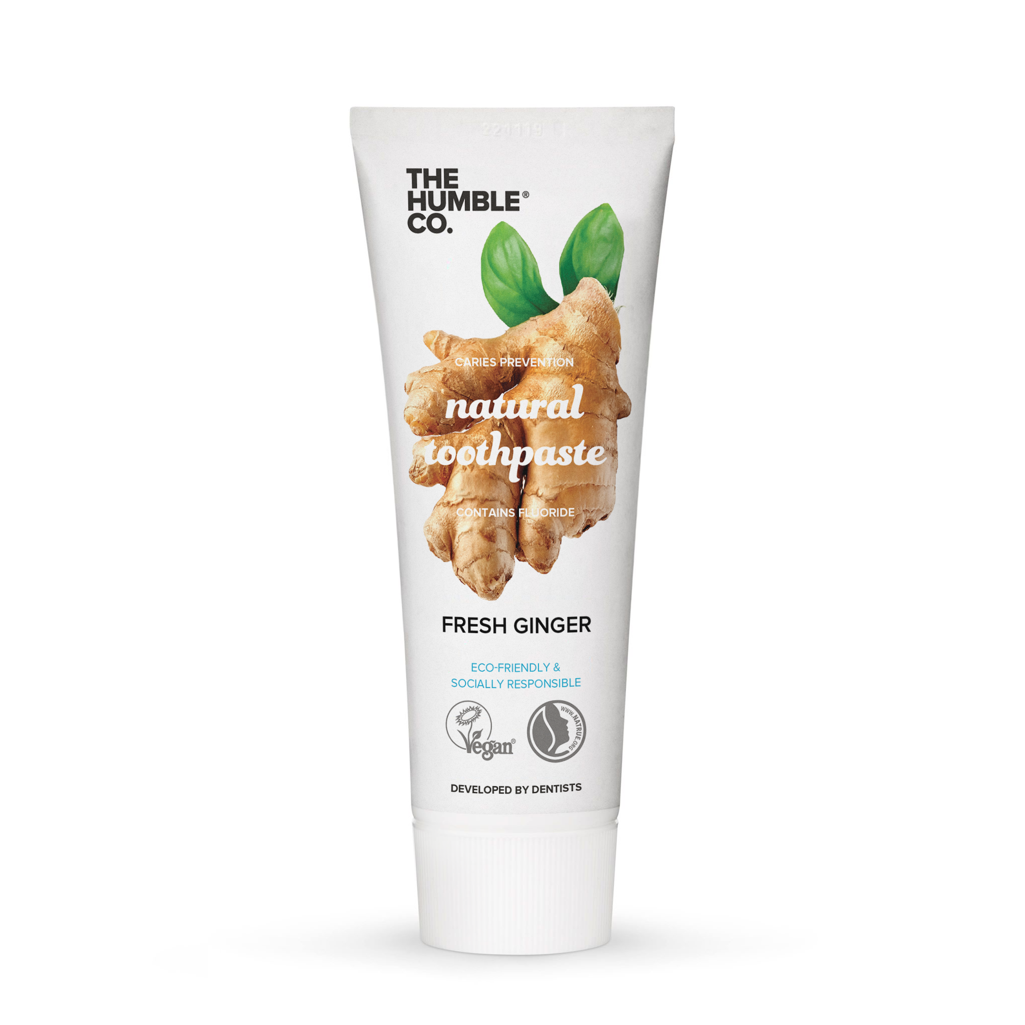 The Humble Co. Natural toothpaste - Ginger 75ml - 14 tubes