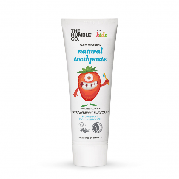 The Humble Co. Natural Kids Toothpaste 75ml - 14 tubes