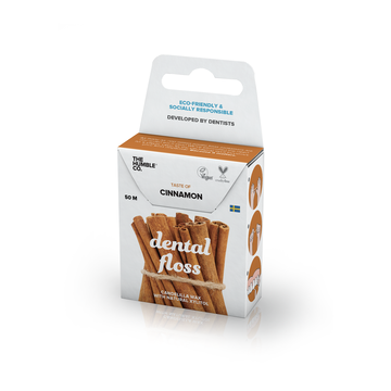The Humble Co. Dental Floss - Cinnamon 50 metres- 12 pack